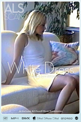 Jana Irrova - `White Dress` - for ALS SCAN